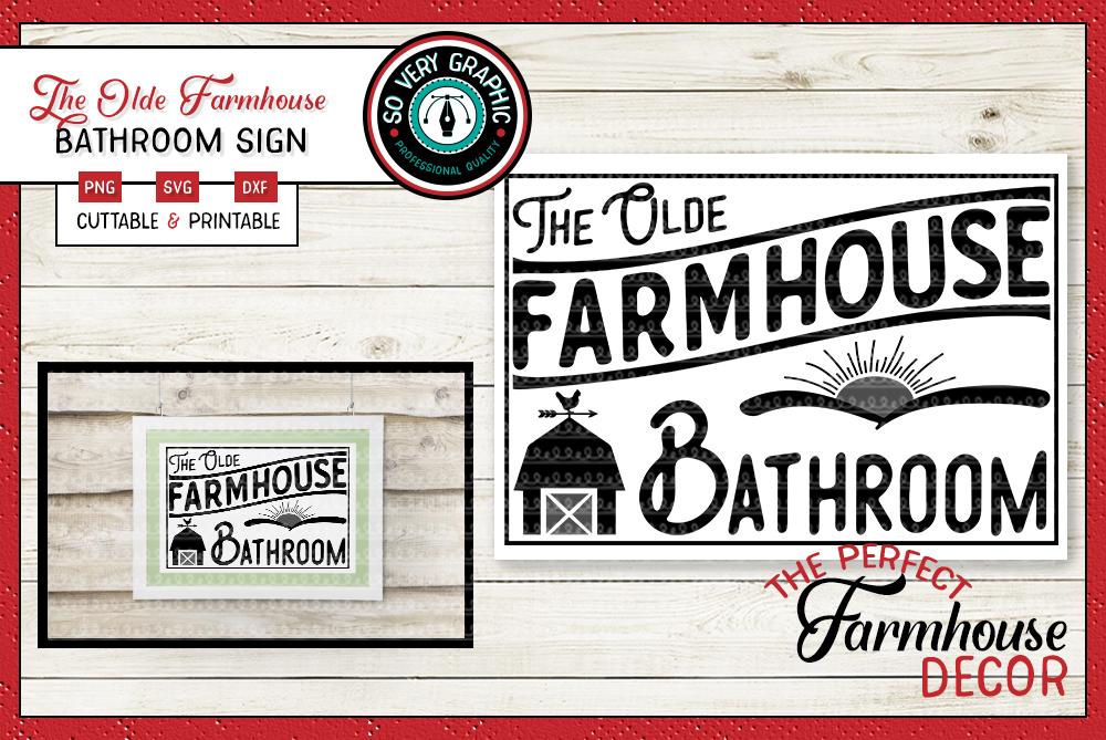 Vintage Farmhouse Bundle | Over 50 Designs | SVG Cut Files example image 26