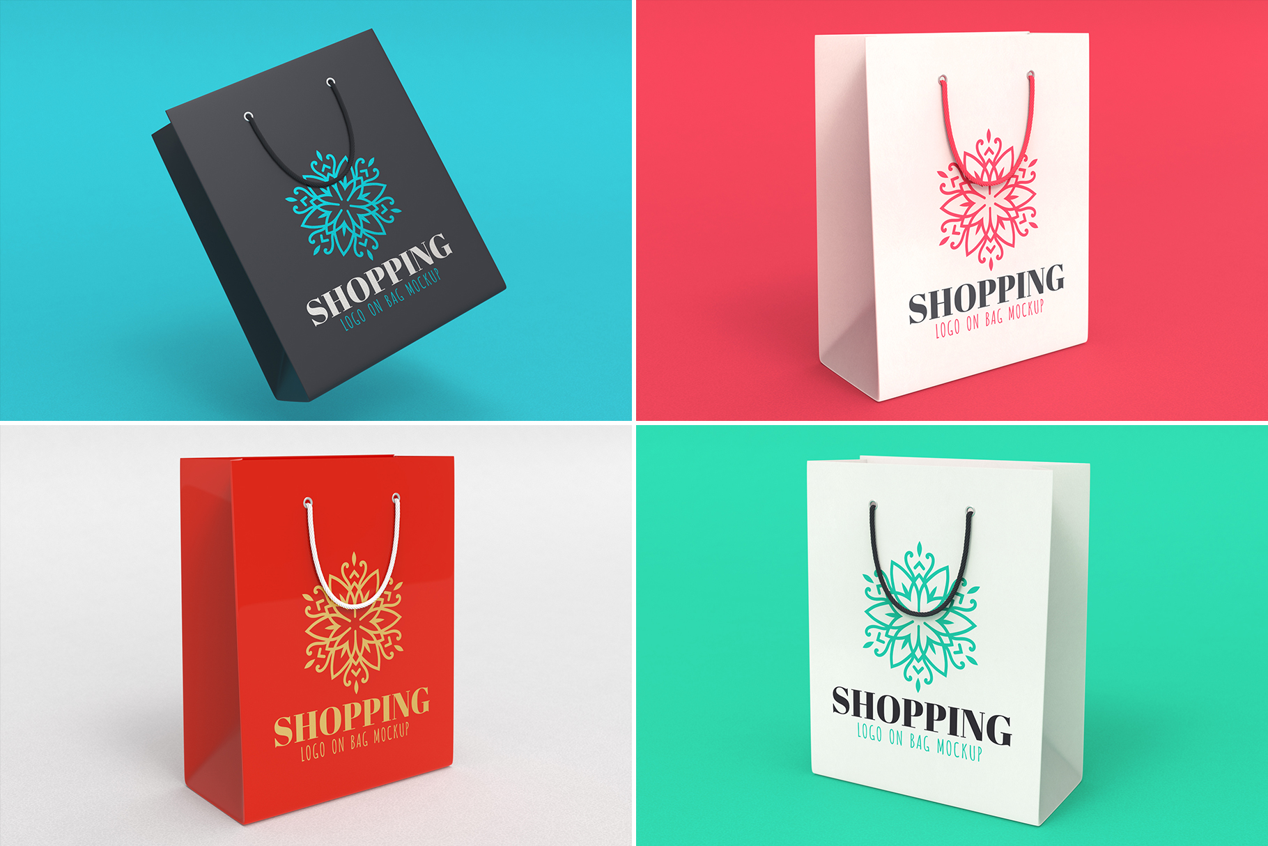 100 Logo Mockups Bundle Vol.2 example image 12
