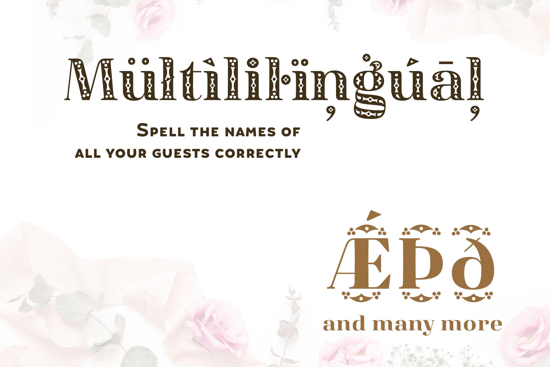 Diara Wedding Font example image 6