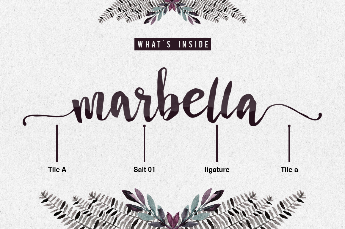 Marbella Typeface example image 3