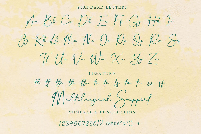 Canthika Luxury Signature Typography example image 5