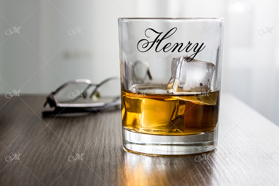 Whiskey Glass Mock-up. PSD+JPG example image 2