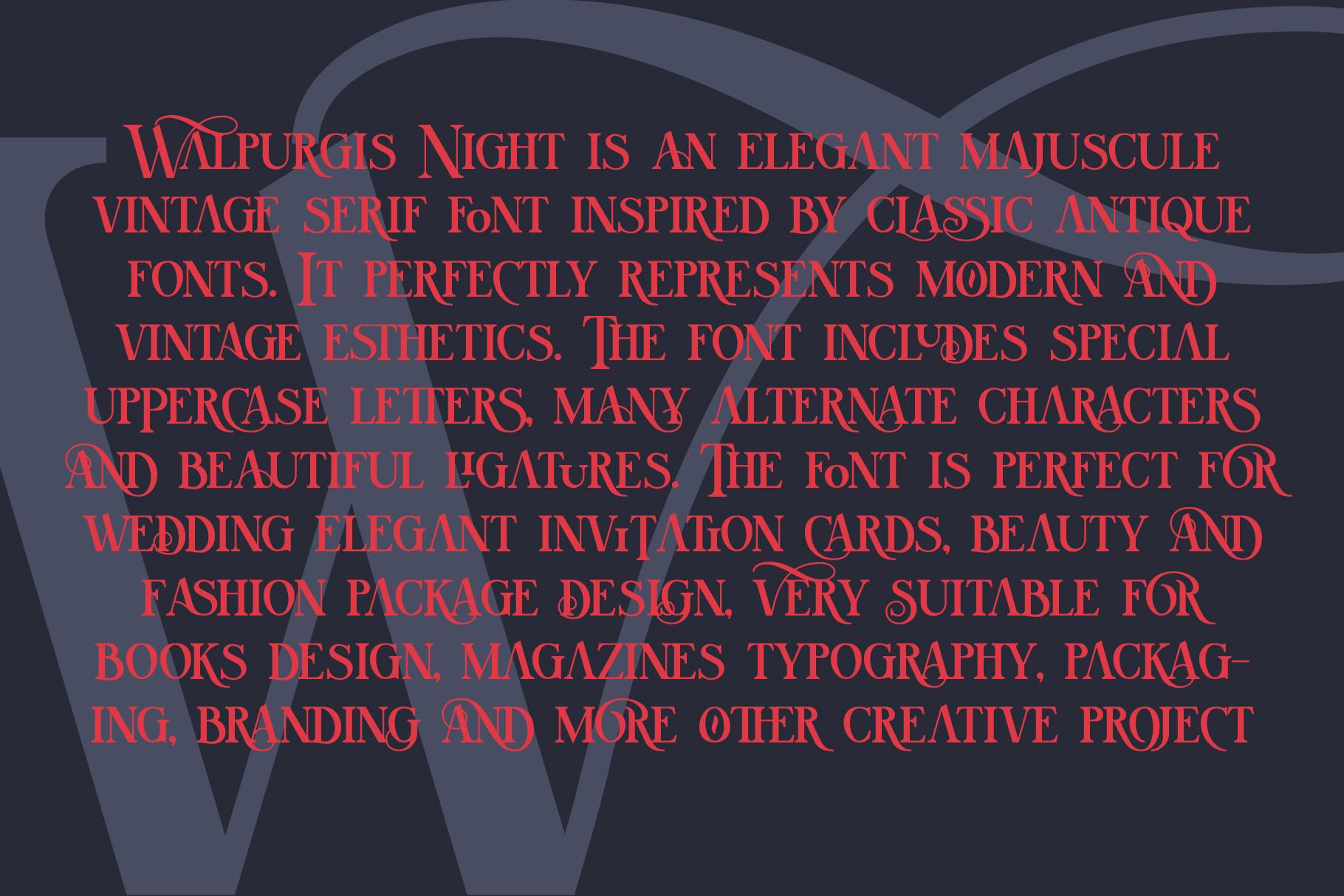 Walpurgis Night example image 4