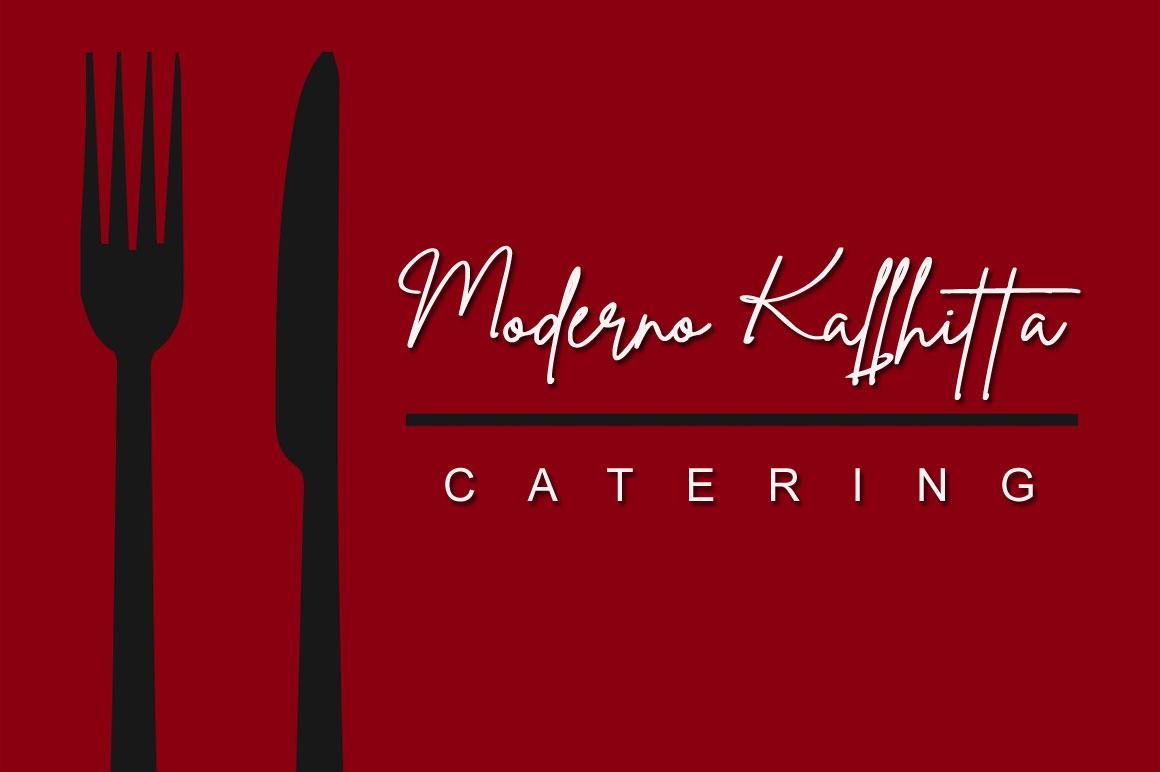 Athena Dilletthrim - Handwritten Signature Font example image 4