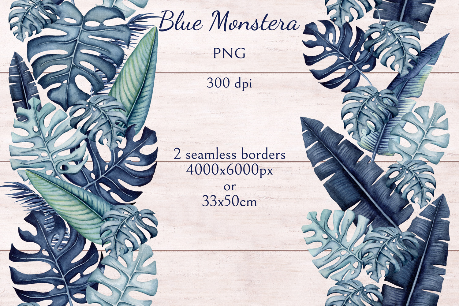 Blue Monstera example image 5