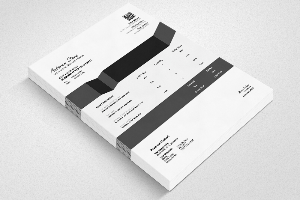 10 Professional Invoice Bundle example image 2