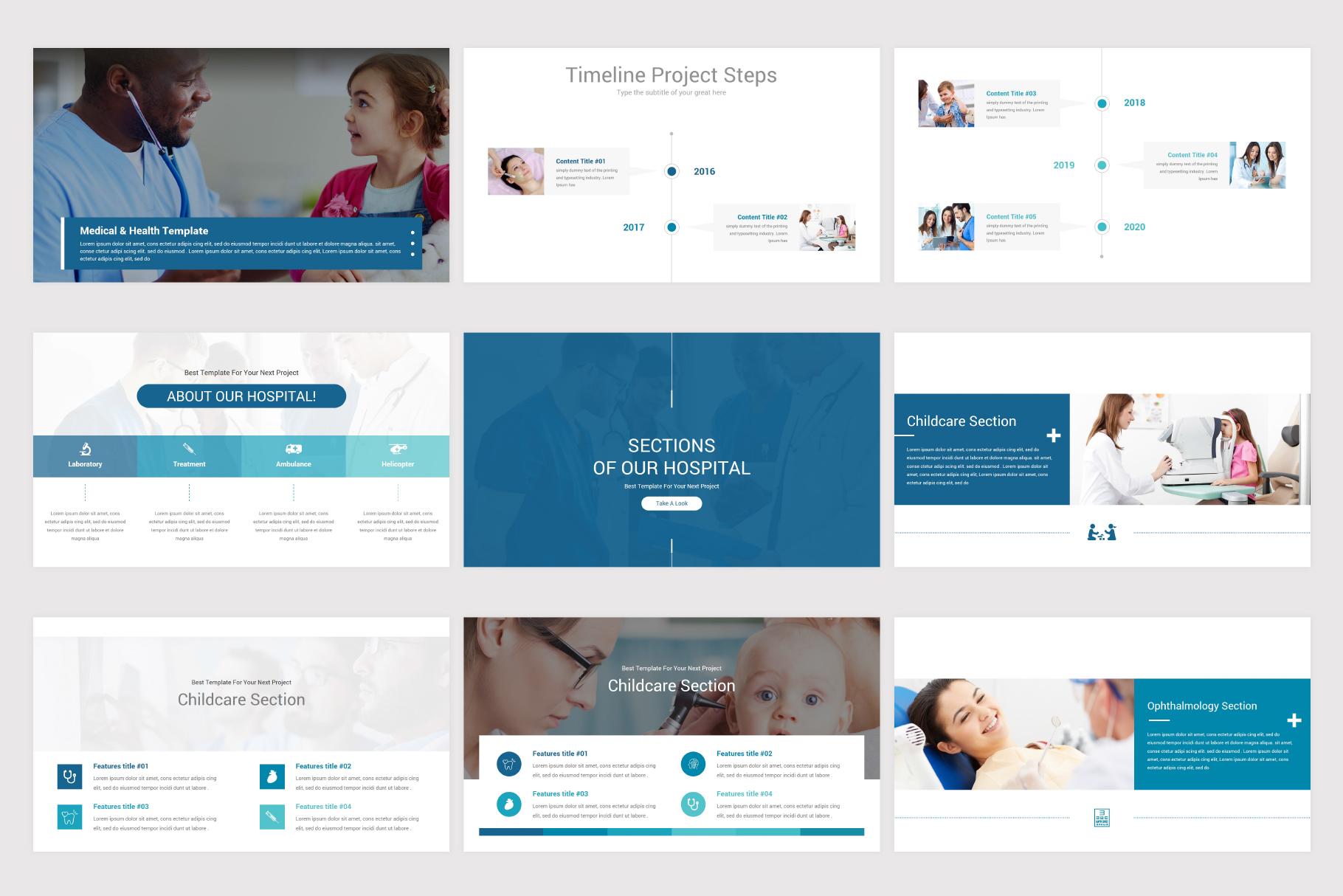 Medical & Health Keynote Template example image 7