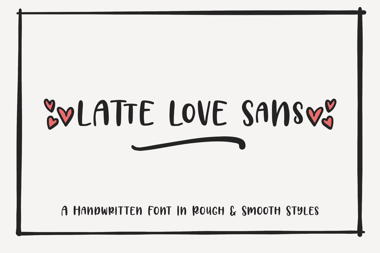 Latte Love Sans example image 1