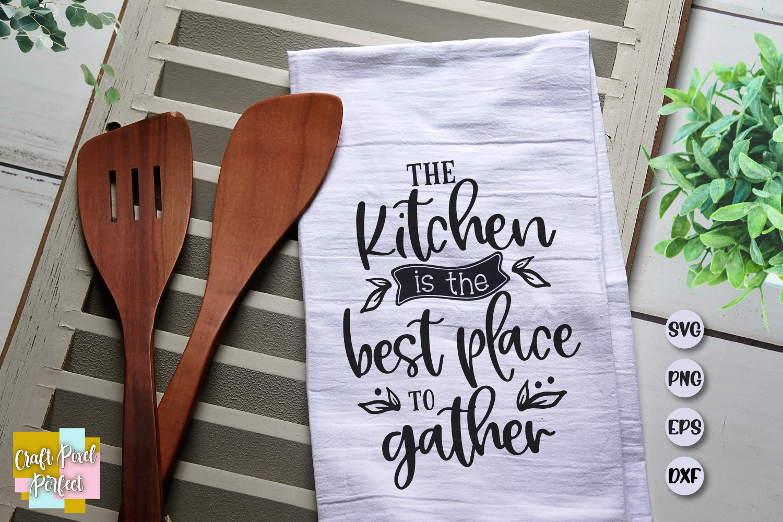 Dish Towel Svg, Kitchen Sign Svg, Pot Holder Svg, example image 1
