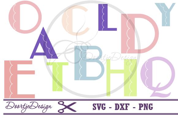 Svg Alphabet Curl example image 1