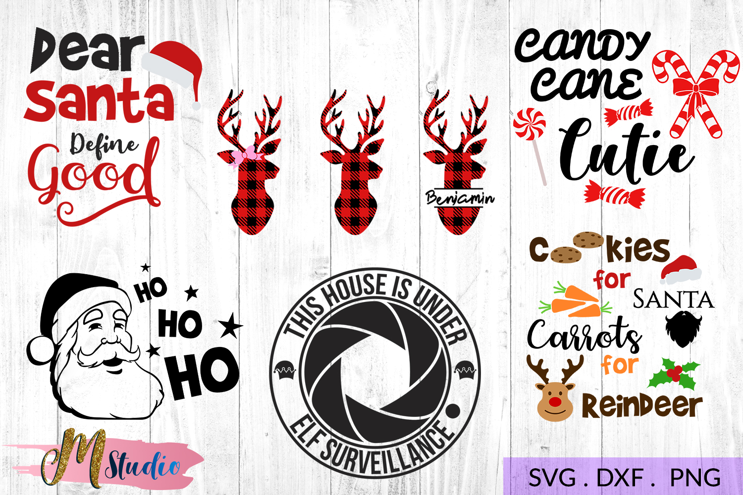The big christmas svg bundle, Christmas SVG Cut File. example image 5