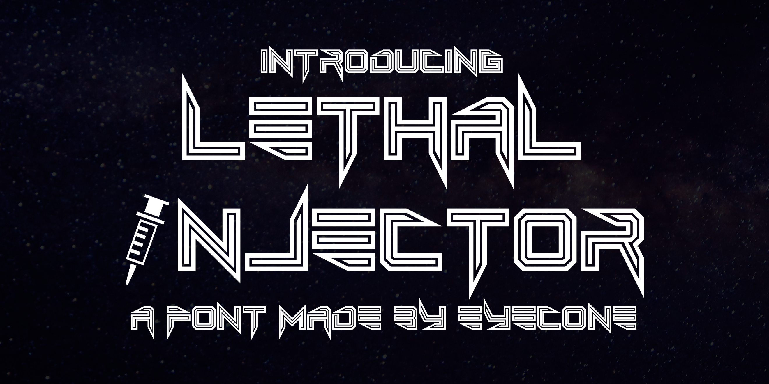 Lethal Injector Layered Typeface example image 6