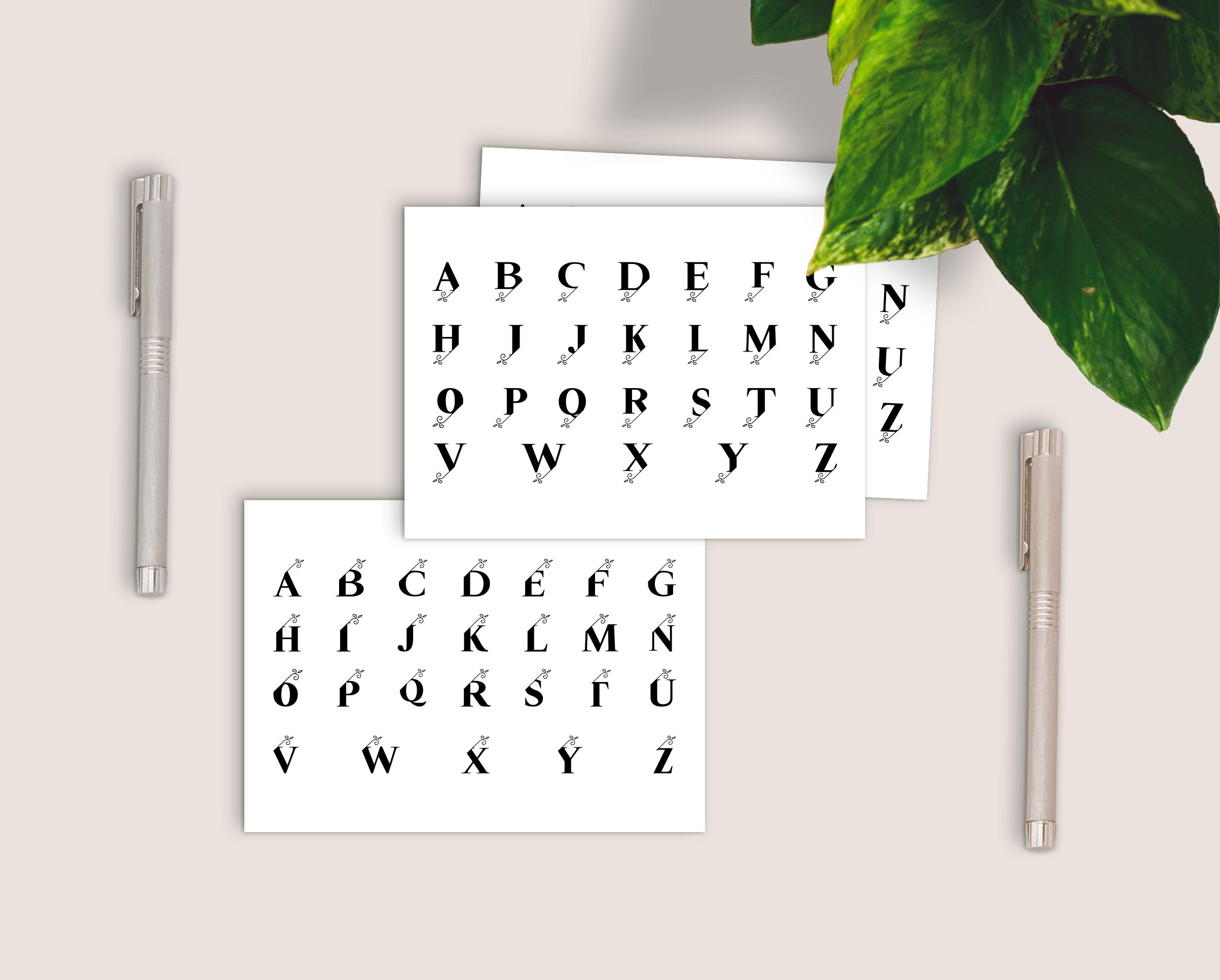 Split Monograms Font example image 5