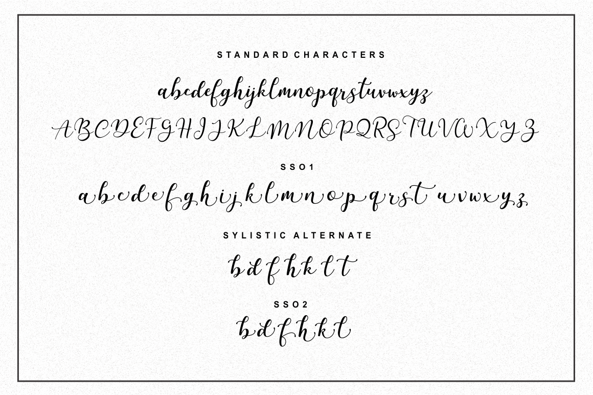 Martinesse - Script Font example image 12