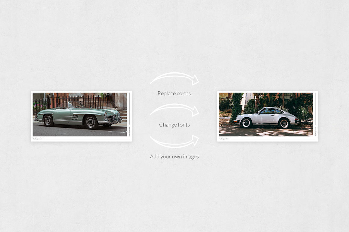 Classic Cars Twitter Posts example image 5