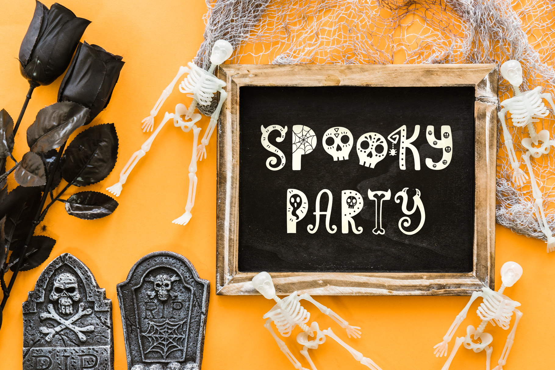 Funny Halloween Font example image 4