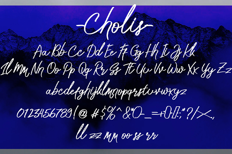 Cholis example image 7