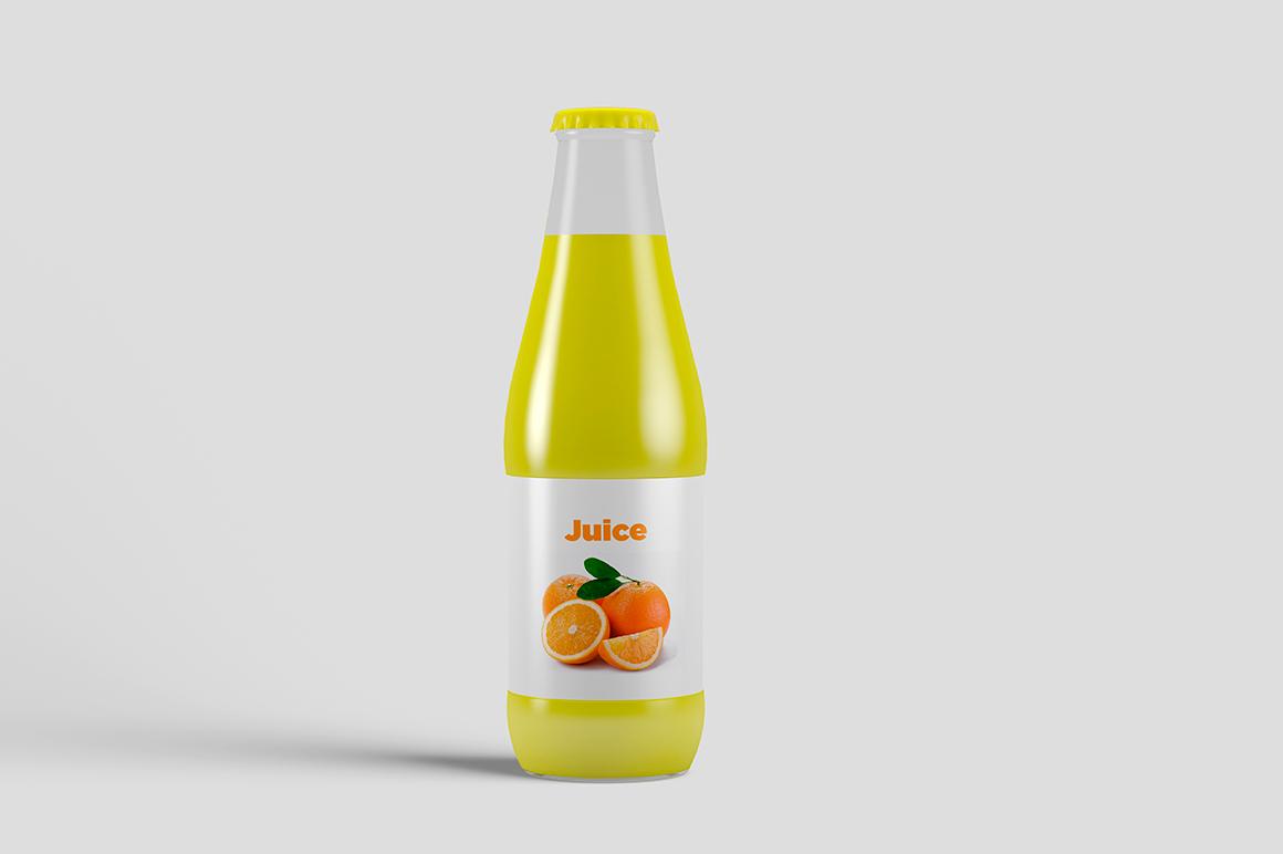 Juice Bottle Mock-Up example image 9