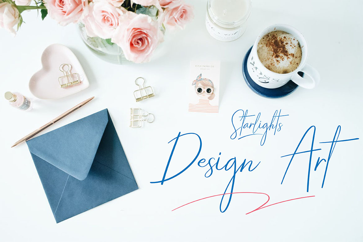 STARLIGHTS | A Classy Script example image 8