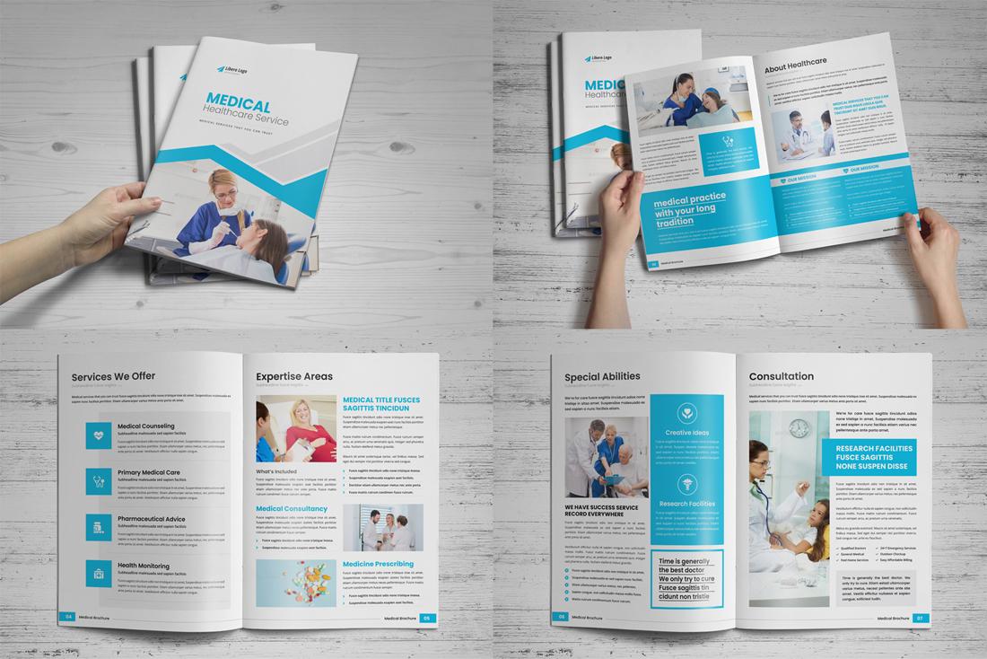 Medical HealthCare Brochure Bundle example image 12