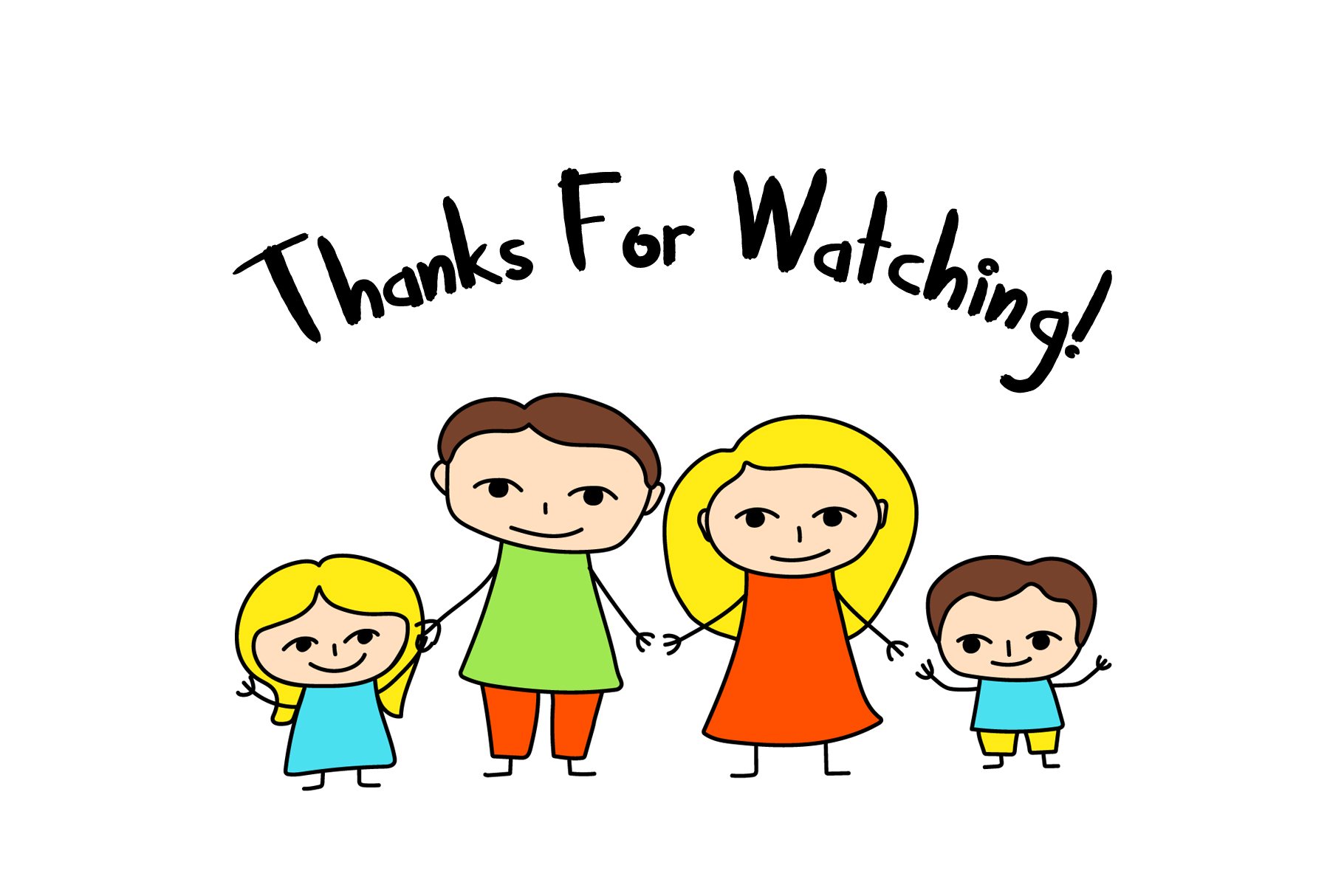 Happy Family Simple Vector Clipart and Patterns example image 6