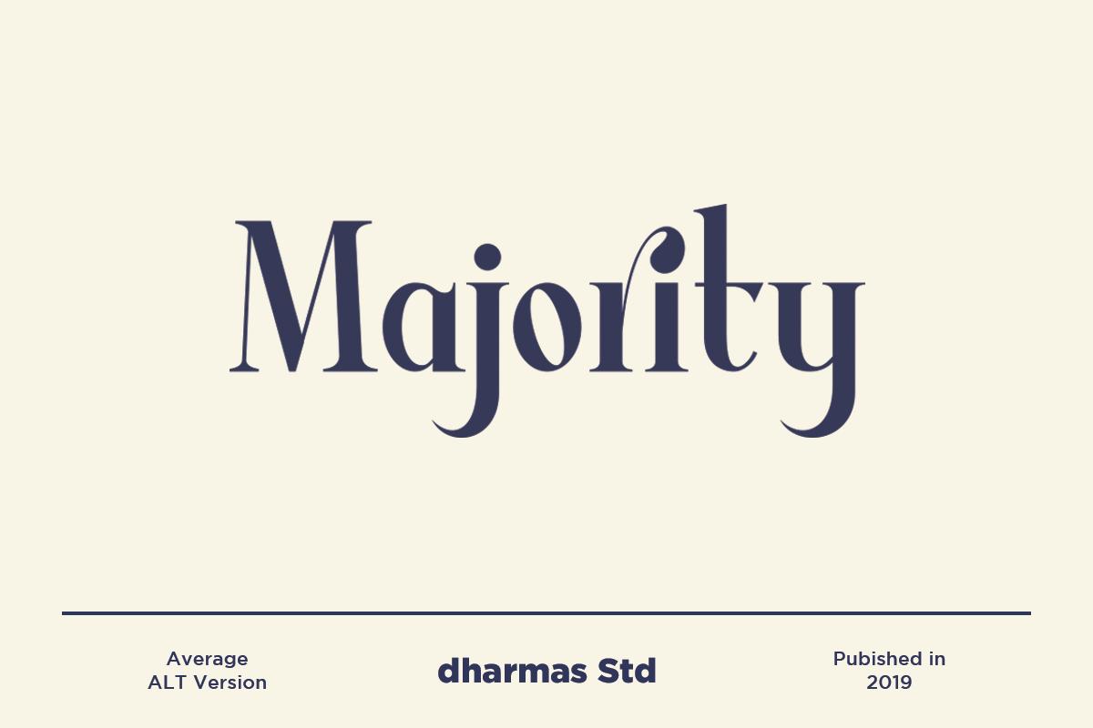 Average - Modern Serif Typeface example image 3