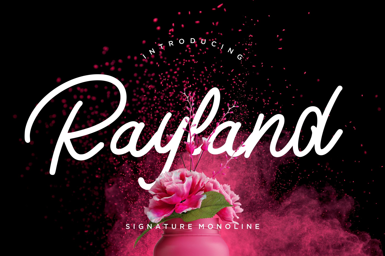 Rayland Signature Monoline example image 1