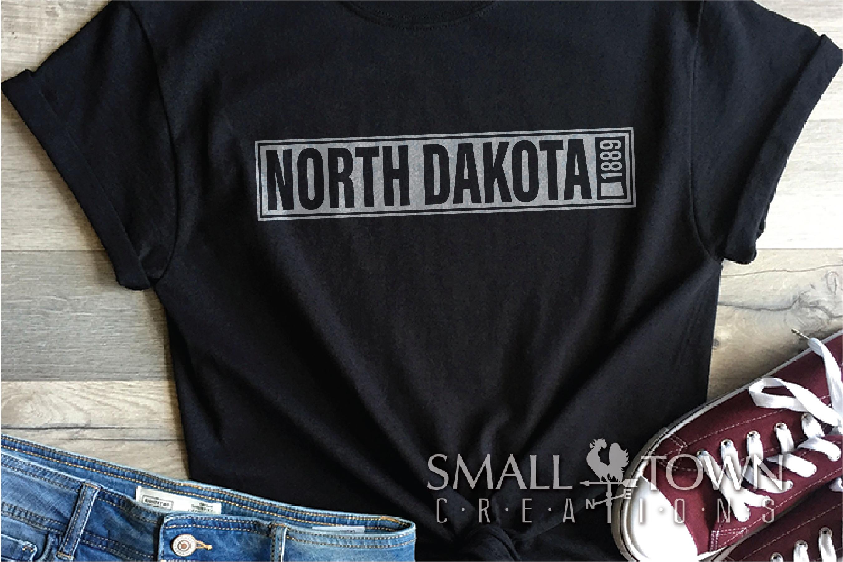 North Dakota, Discover the Spirit, logo, PRINT, CUT & DESIGN example image 8