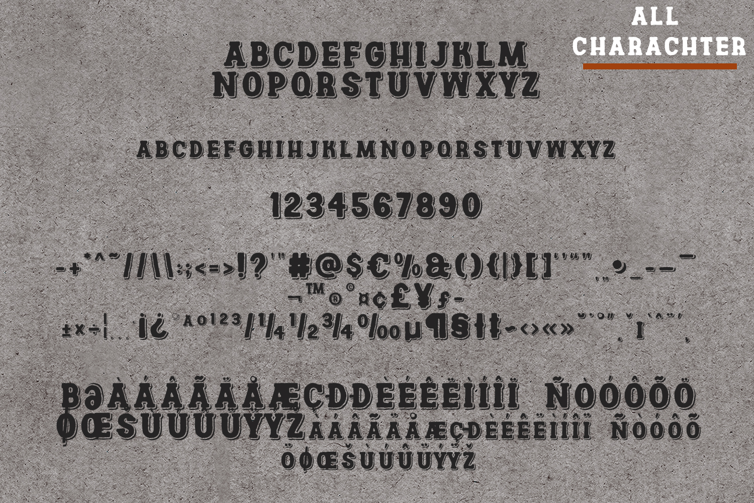 Channles - Family Vintage Font example image 9
