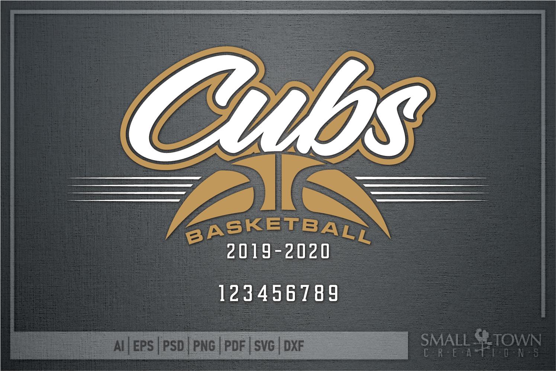 Cub, Cub Basketball, Sport, Design, PRINT, CUT, DESIGN example image 5