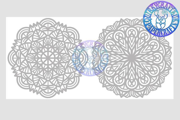 Big Bundle JULY 2018 - 31 Papercutting Templates example image 19