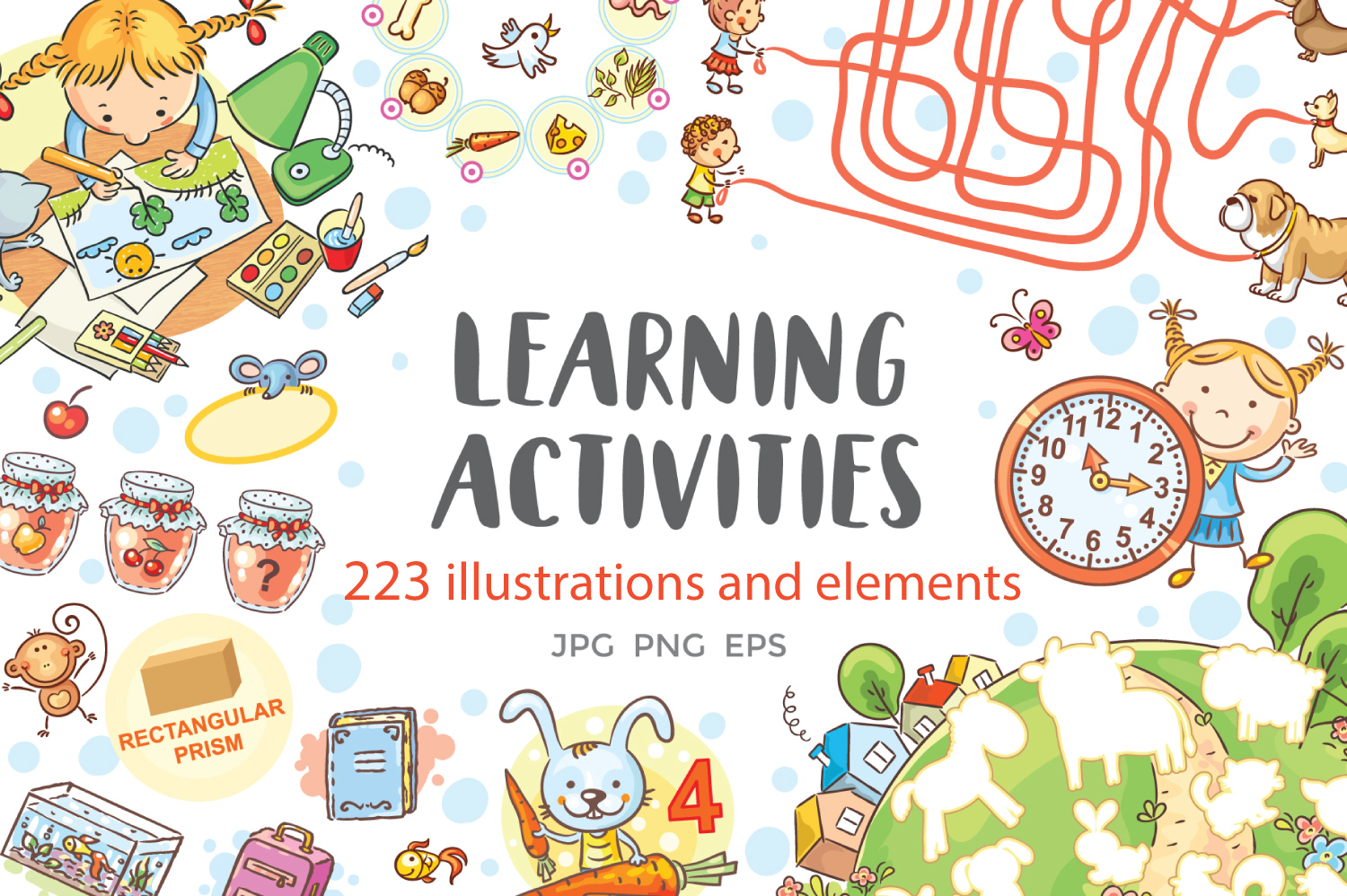Learning Activities Bundle example image 1
