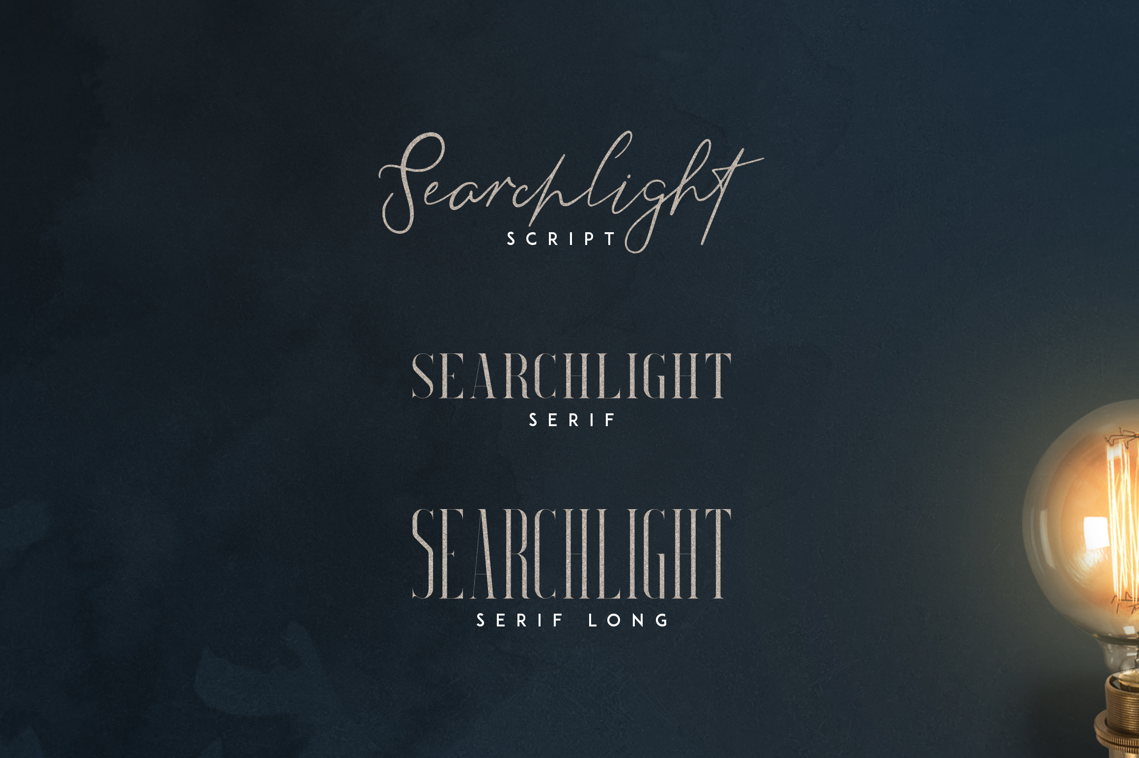 Searchlight - font trio example image 2