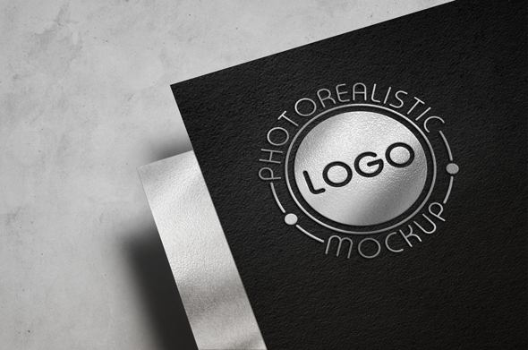 Logo Mock-Up Paper Edition example image 19