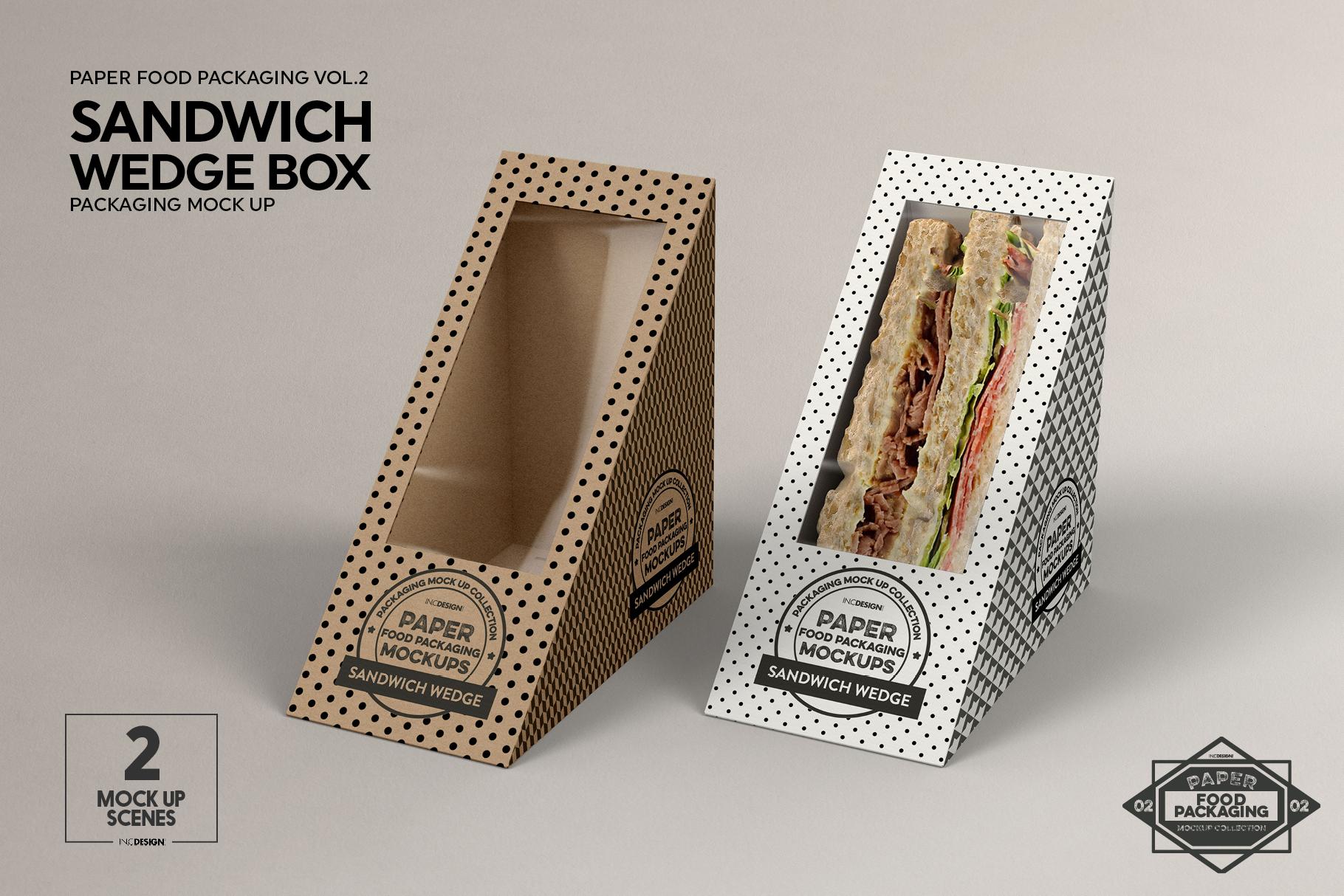 VOL.2 Food Box Packaging MockUps example image 7