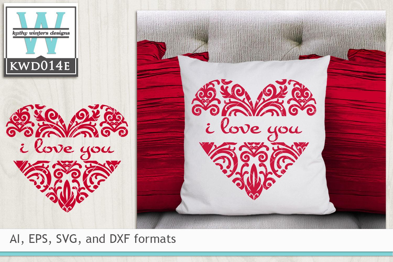 BUNDLED Valentines Cutting Files KWDB024 example image 3