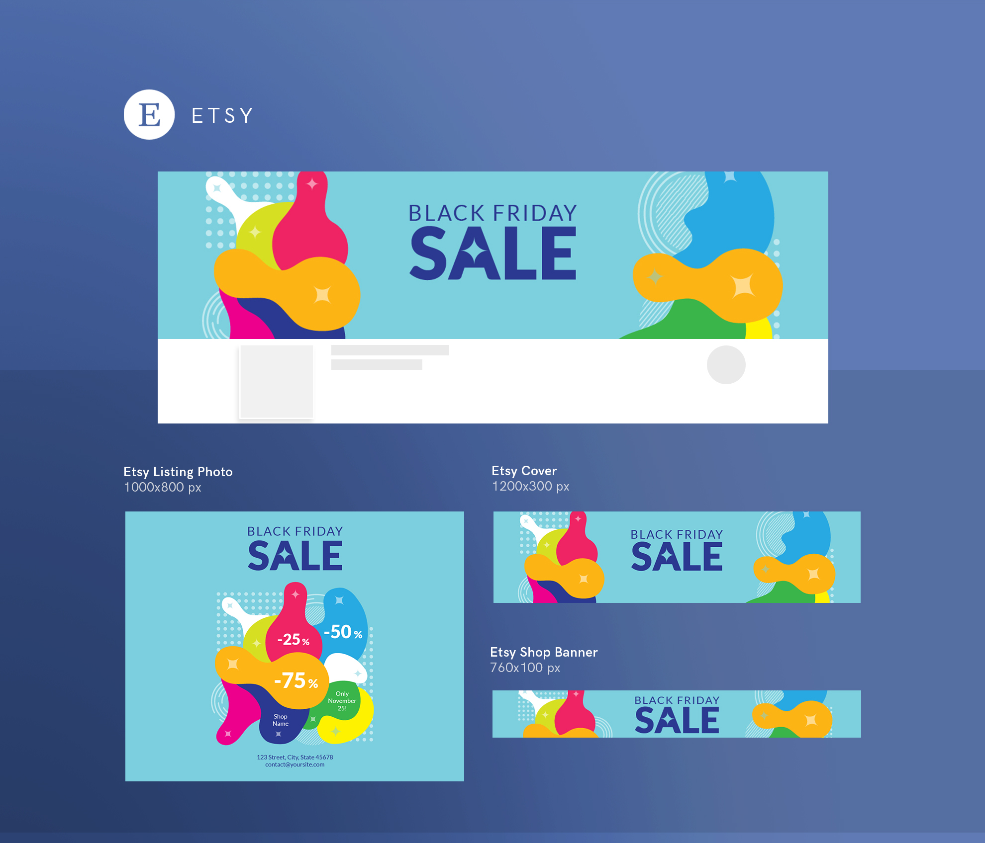 Black Friday Sale Design Templates Bundle example image 14