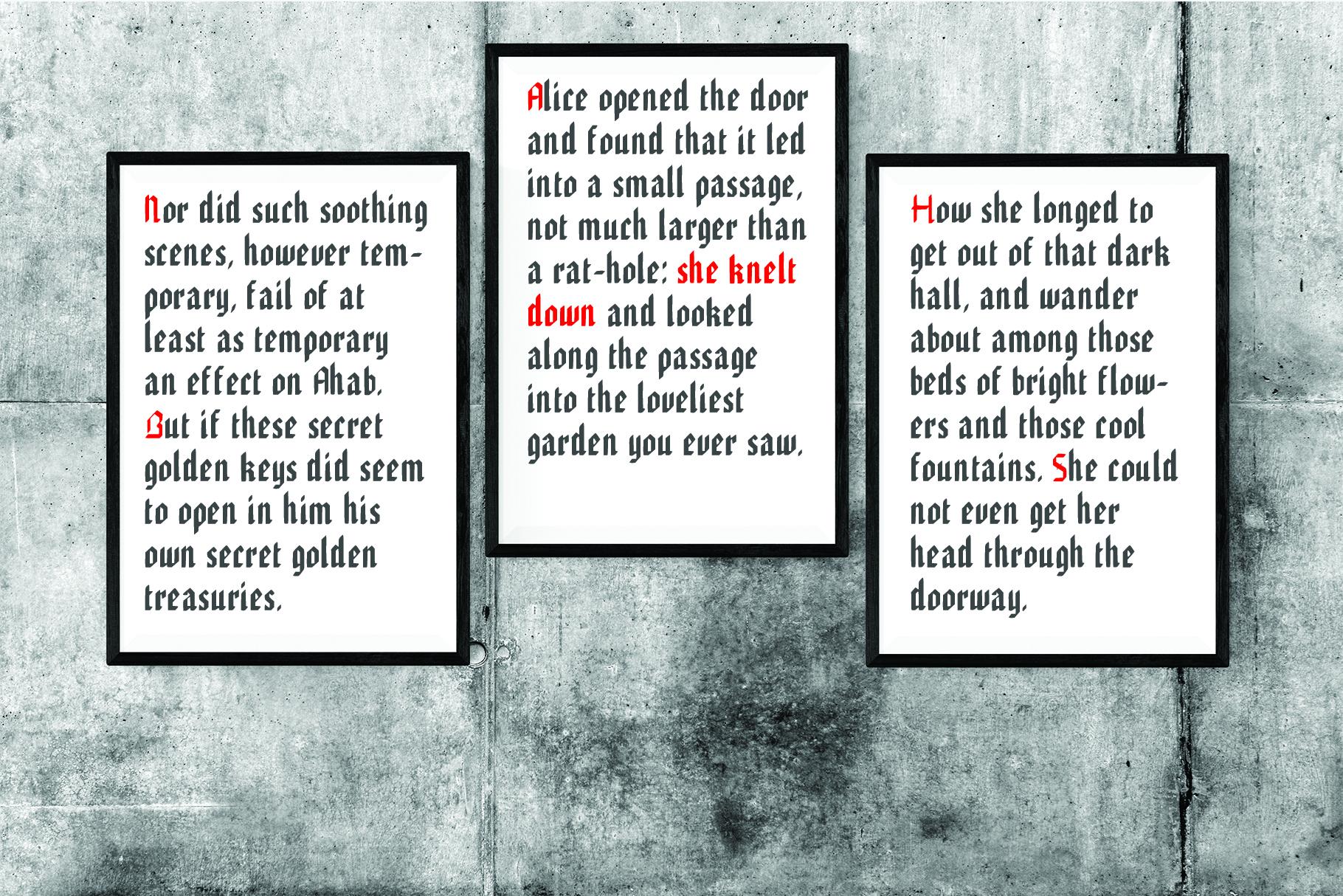 EDGAR, Handmade Gothic Typeface example image 2