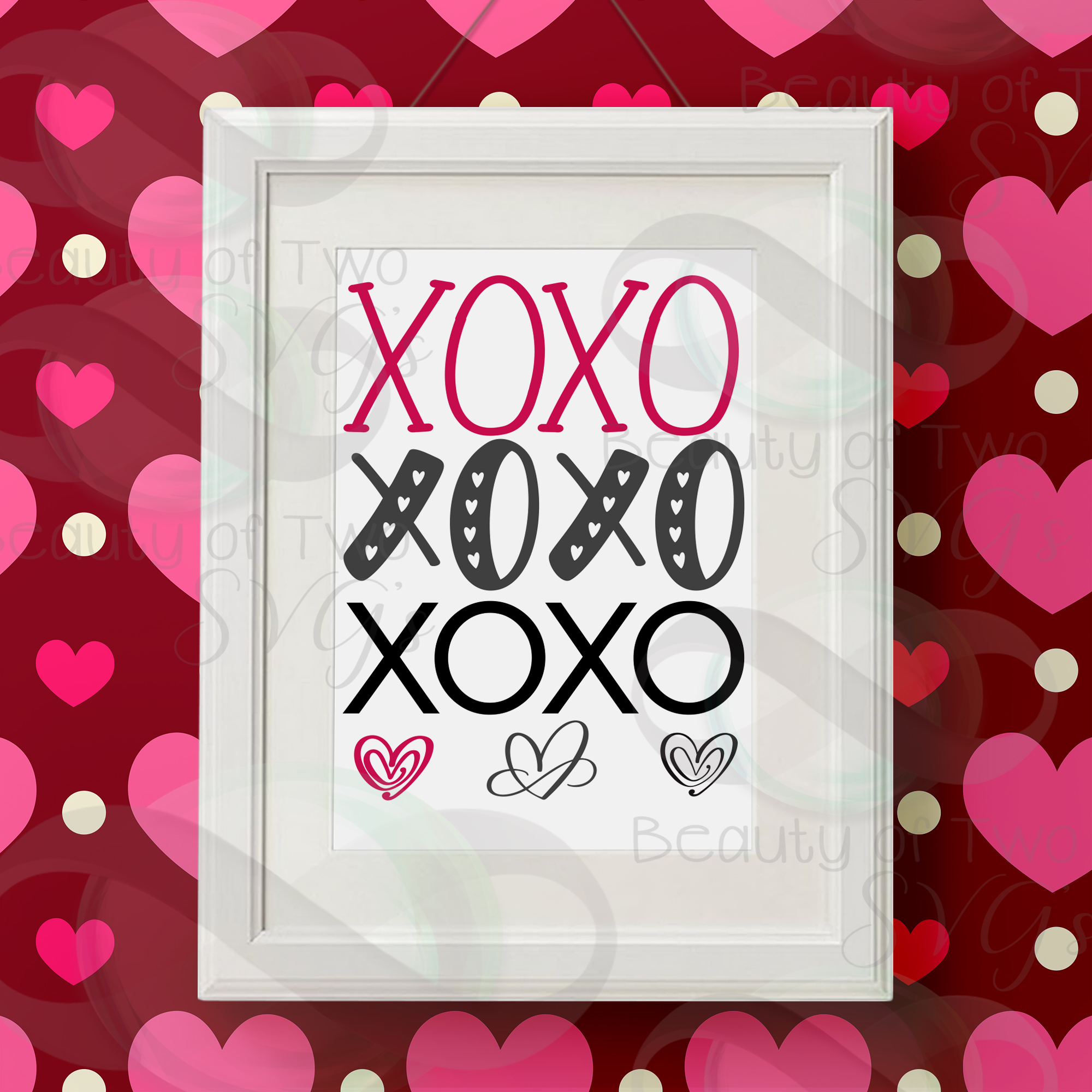 All About Love Svg Digital Sign Bundle, Farmhouse love svg example image 4