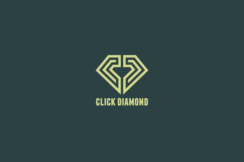 Click Diamond Logo Template example image 1