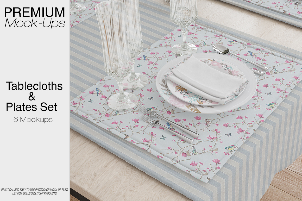 Tablecloth, Runner, Napkins & Plates example image 1