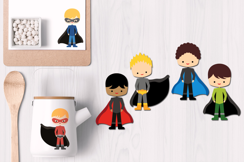 Superhero design bundle graphics and illustrations example image 3