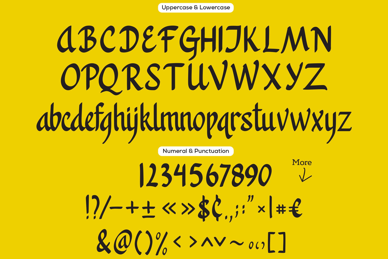 Khanaya - Serif Script Font example image 9