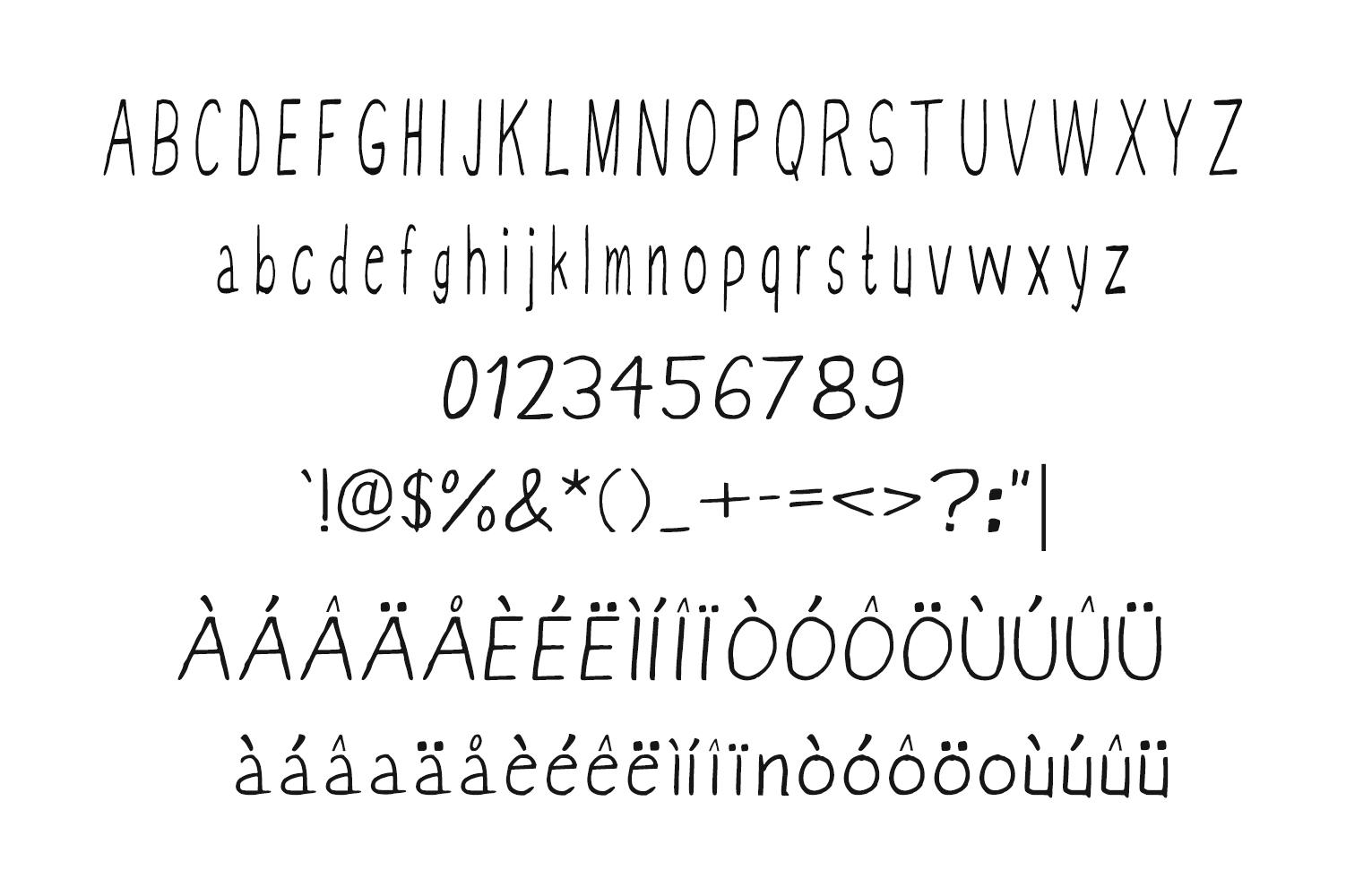 Vannah Font Duo + Bonus Clipart example image 3