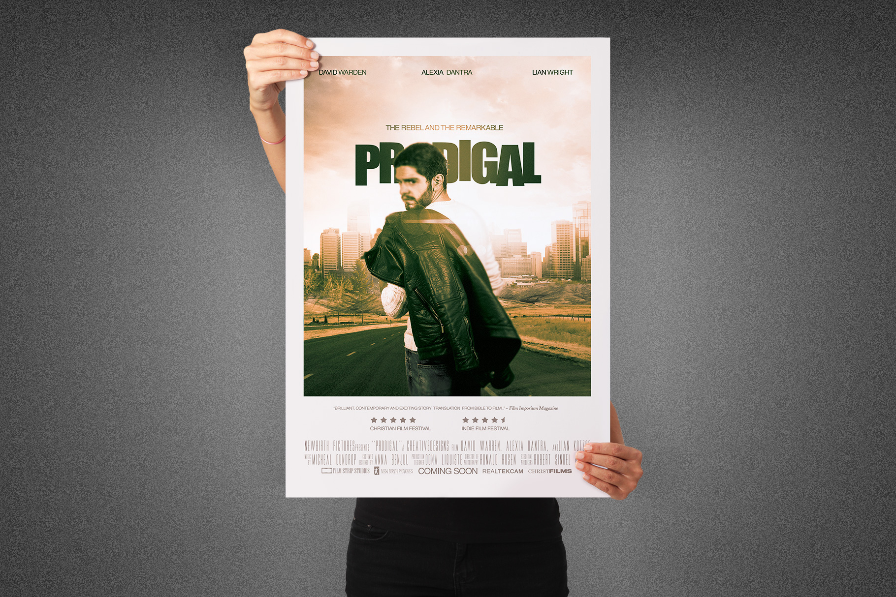 Prodigal Movie Poster Template example image 2