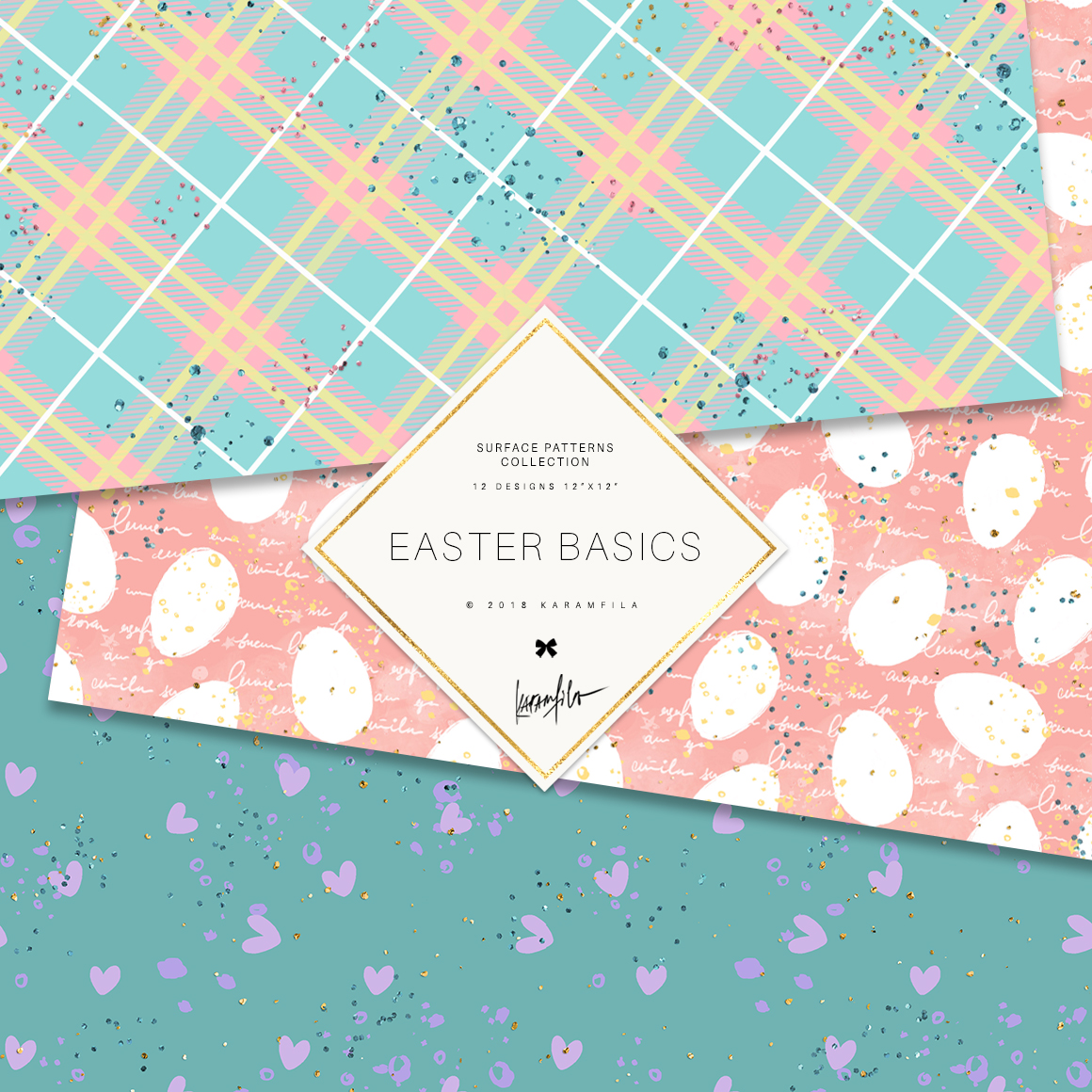 Easter Patterns example image 5