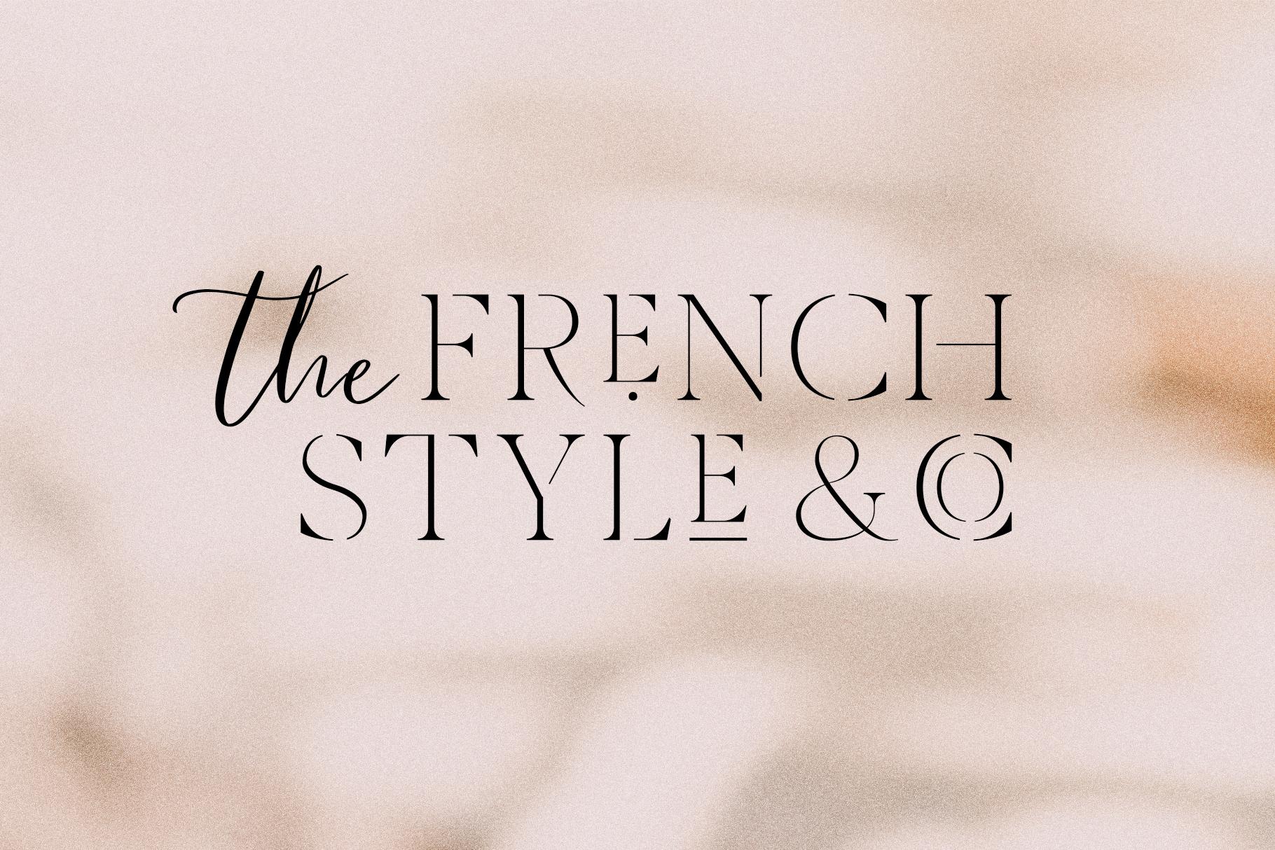 Verona Amore - Modern Serif & Script Font Duo & Extras example image 2