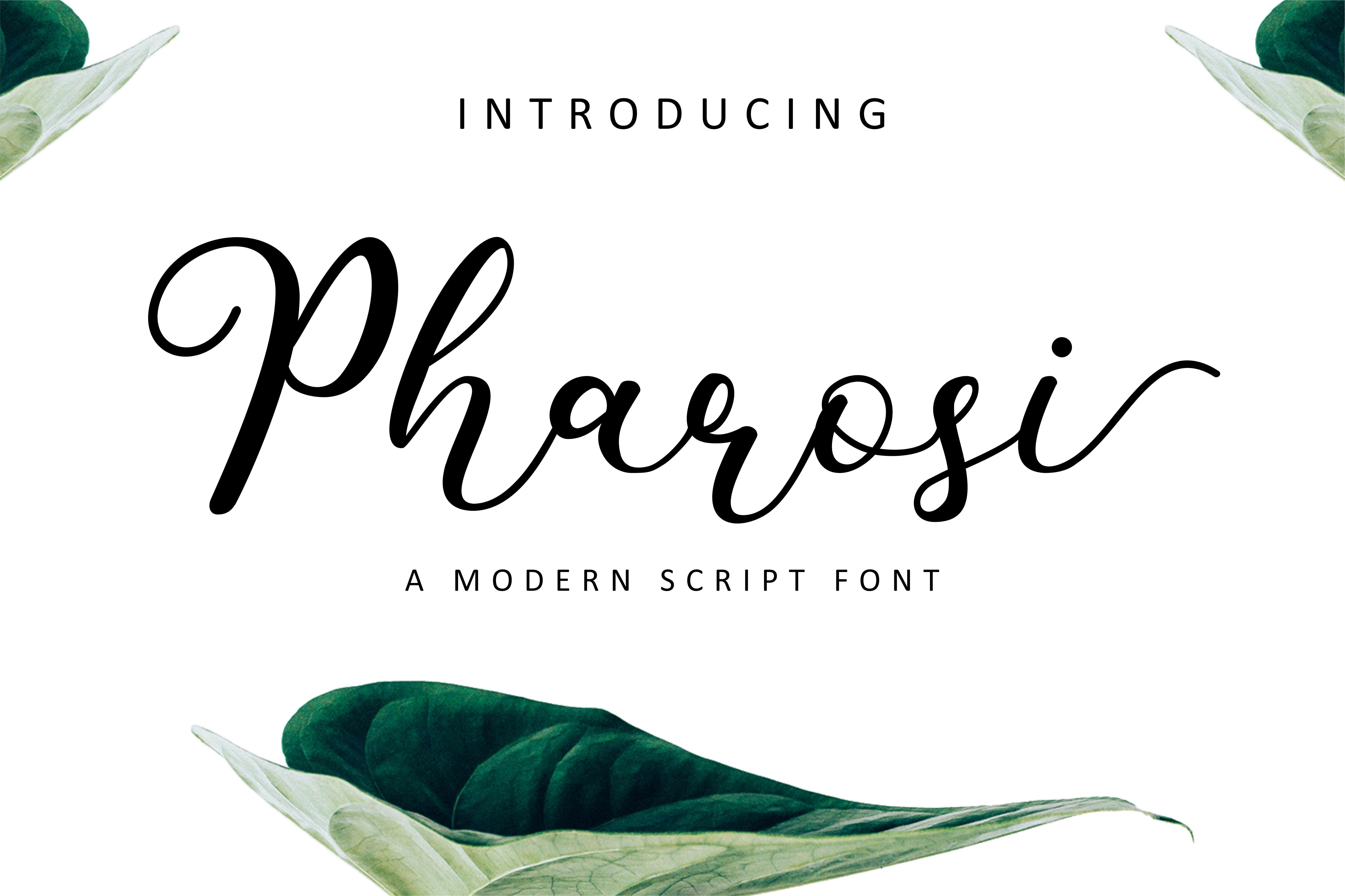 Pharosi Font example image 2