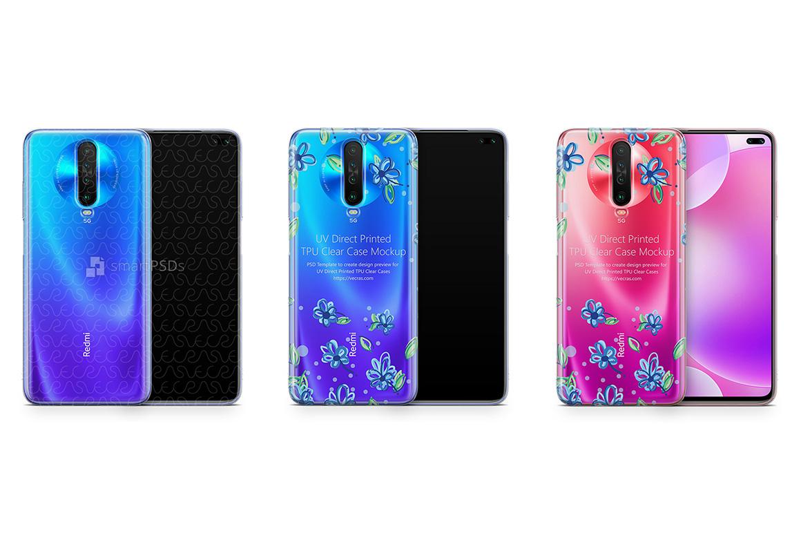 Xiaomi Redmi K30-K30 5G 2019 TPU Clear Case Mockup example image 1