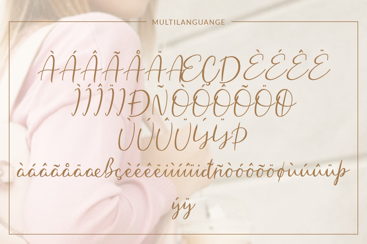 Hungaria - Sophisticated Script Font example image 8